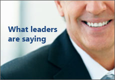 What leaders are saying